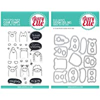 Avery Elle - Peek-A-Boo Pets - Clear Stamps and Dies Set