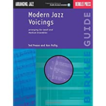 Modern Jazz Voicings: Arranging for Small and Medium Ensembles with CD (Audio)