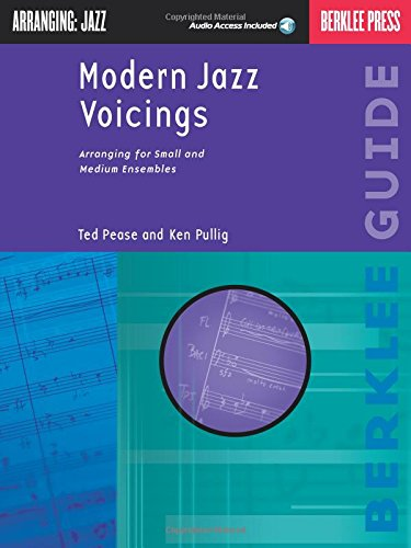 Modern Jazz Voicings: Arranging for Small and Medium Ensembles por Ted Pease