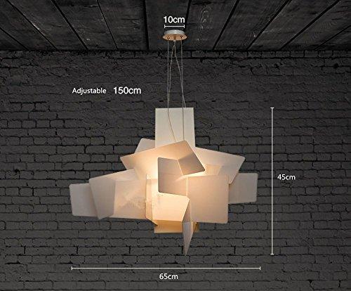 Moderno lampadario a sospensione per camera da letto e soggiorno