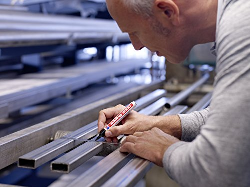 edding 3000 Permanentmarker (zur Beschriftung und Markierung von fast allen Oberflächen) - sortiert - 10er Arbeitsbox - nachfüllbarer, wasserfester und lichtbeständiger Marker - Strichbreite: 1,5 - 3mm