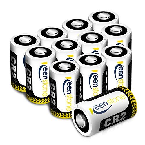 3V Cr2 pilas, Keenstone 12PCS 3V 850mAh Cr2 Pilas de Litio - para Cámaras Fotográficas, Linternas, Videocámara, Juguetes, Medidores de Luz, etc ( No Regargable )