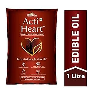 Nature Fresh ActiHeart Edible Oil 1Lt Pouch