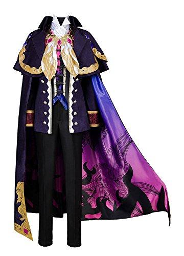 Fate Grand Order Monte Cristo Edmond Dantes Avenger Prinz Märchenprinzen Cosplay Kostüm XXXL