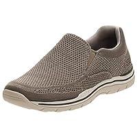 SKECHERS Expected-Gomel, Men's Shoes, Beige (Taupe), 9.5 UK (44 EU)