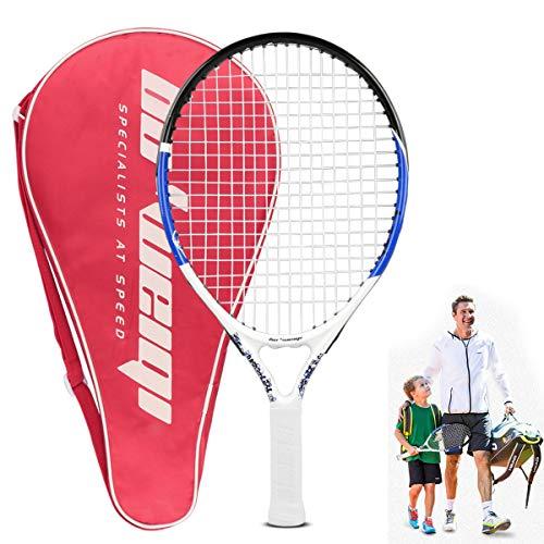 Calmare Tennisschläger, Aluminium-Tennisschläger inklusive Tennis Tasche-Tennisschläger für Kinder, Männer & Frauen
