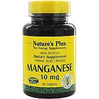 Natures et comprimés de 50 MG de manganèse 90