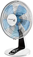 Rowenta VU2630F0 Ventilateur de Table Turbo Silence Extrême 30 cm Silencieux Turbo Boost Oscillation 4 Vitesses 40W...