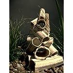 Aquanetta Stack of Tubes for Aquarium Inhabitants, 11 x 11 x 12.5 cm(Product Design may vary) 5