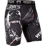 Venum Grizzli Short de Compression Homme, Noir/Blanc, FR (Taille Fabricant : XL)