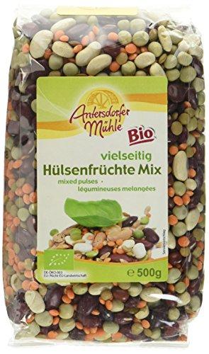 Antersdorfer Mühle Hülsenfrüchte Mix, 6er Pack (6 x 500 g) - Bio - Erbsen-mix