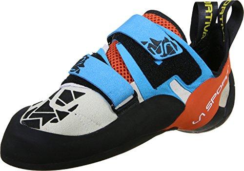 La Sportiva Otaki Scarpa arrampicata blau/rot