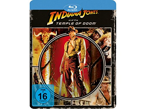 Indiana Jones and the Temple of Doom - Limited Edition Steelbook - Futurepak - Novobox Edition - Geprägt - Blu-ray [Blu-ray]