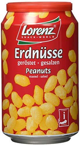 Lorenz Snack World Erdnüsse geröstet, gesalzen Conv.Dose, 12er Pack (12 x 200 g)