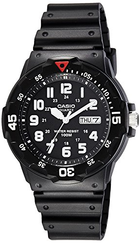 casio enticer analog black dial men's watch - mrw-200h-1bvdf (a595) Casio Enticer Analog Black Dial Men's Watch – MRW-200H-1BVDF (A595) 5167lw9G 2BWL
