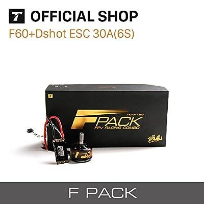 T-motor F PACK 4pcs F60 + 4pcs F30A KV2450(2-6S) For Mini FPV Racing Drones Motor