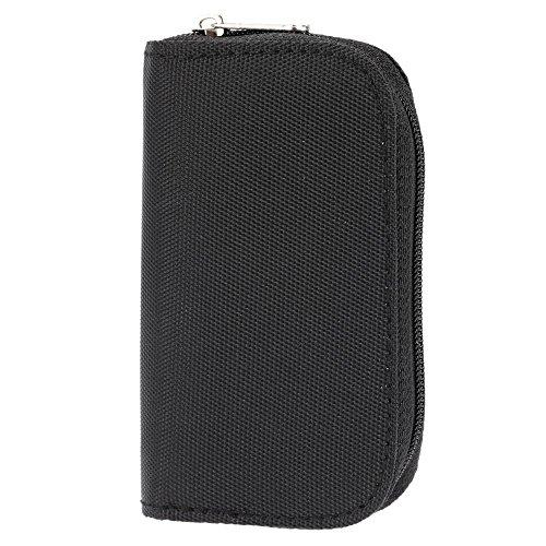 Docooler Universal Speicherkarten Tragetasche für SD/SDHC/CF/TF/MMC-Card-Portable