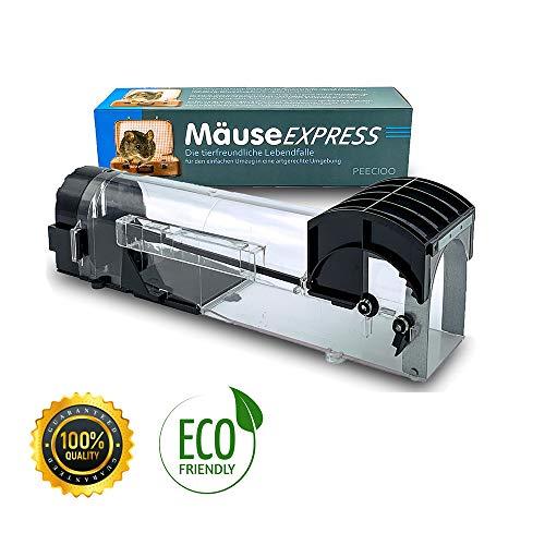 PEECIOO - MäuseExpress - Lebend Mausefalle für den Mauseumzug
