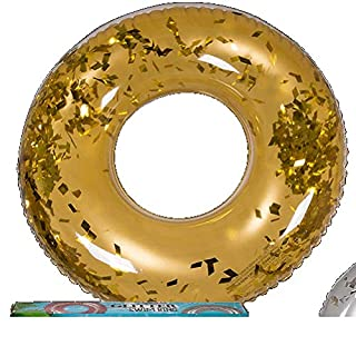 Autres OOTB Inflatable Swimming Ring Gold