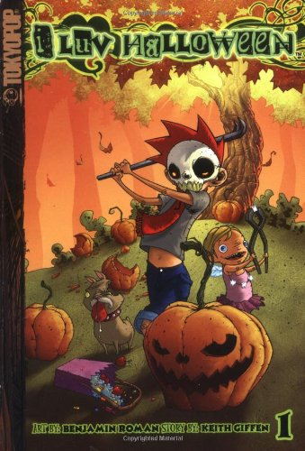 I Luv Halloween Volume 1 Manga (I Luv Halloween (Graphic Novels)) (I Halloween Luv)