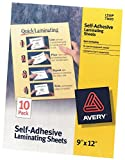 "Best Avery Laminatings - Avery Self-Adhesive Laminating Sheets 9""X12"" 10/Pkg Review"