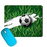 PosterGully - The One World Football footballfan Mousepad