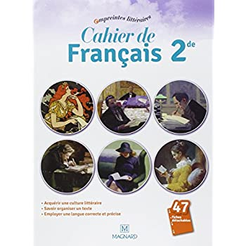 Cahier de français 2e