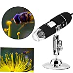 8 LED 1000X USB 2.0 Digital Microscope Endoscope Magnifier Video Camera Stand UP