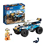 LEGO 60218 City Vehicles Desert Rally Racer Toy, Racing Cars for Kids 5+ Years Old, Colourful