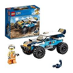 Idea Regalo - LEGO City - Auto da rally del deserto, 60218