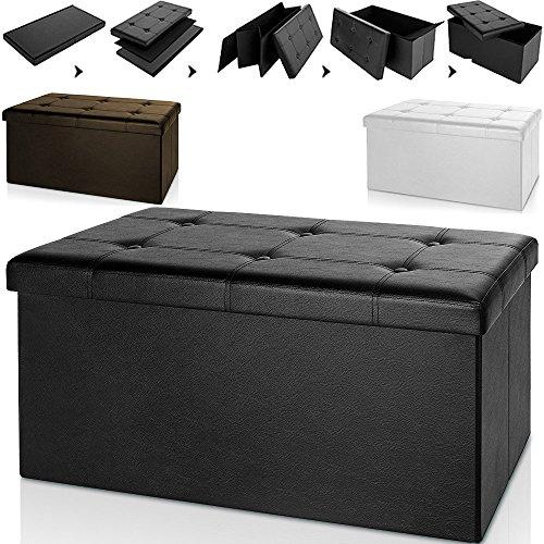 large-folding-storage-ottoman-stool-bench-footstool-white-black-brown-space-saving-45-x-16-x-16-toys