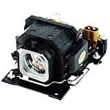 Molgoc DT00781de Remplacement pour vidéoprojecteur Ampoule Lampe avec boîtier Compatible pour Hitachi Cp-rx70/X1/X2wf/X4/X253X254, Ed-x20ef/X22ef , Mp-j1ef