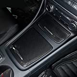 Cubierta para cenicero central de carbono ABS para Benz CLA GLA Clase A W117 W176 A180