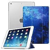 FINTIE Custodia per iPad Air 2 (Modello 2014) / iPad Air (Modello 2013) - Ultra Sottile del Basamento Leggero Smart Cover Case con Auto Svegliati/Sonno Funzione, Starry Sky