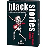 moses. 108580 - black stories Scary Music Edition, Kriminalspiel, mehrfarbig