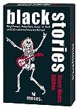 moses. black stories Scary Music Edition | 50 rabenschwarze Rätsel | Das Krimi Kartenspiel