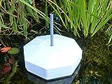 Eisfreihalter mit Belüftungsrohr für den Gartenteich