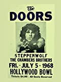 The Doors reproduction Concert photo affiche 40x30cms