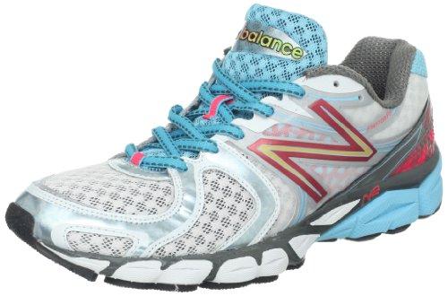 New Balance W1260wb3, Chaussures de Running Compétition femme Blanc/bleu