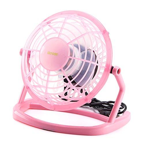 usb-fan-ikross-usb-mini-desktop-office-silent-fan-with-360-degree-rotation-on-and-off-switch-pink