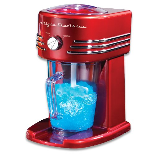 Simeo FF 145 Slush- und Crushed-Ice Maker / Retro-Design / 29 cm hoch