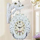 HOME UK- Orologio da parete a due lati antiquariato in stile americano americano ( Colore : Bright white ) - Orologio da parete a doppia faccia - amazon.it