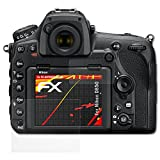 atFoliX Folie für Nikon D850 Displayschutzfolie - 3er Set FX-Antireflex-HD hochauflösende entspiegelnde Schutzfolie