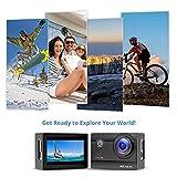 Victure Action Cam 4K Wifi 170° Weitwinkel Wasserdicht 40M Unterwasserkamera 20MP Ultra Full HD - 9