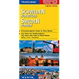 Suède - Cartes de voyage : 1/800 000