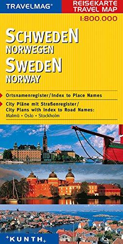 Reisekarte : Schweden / Norwegen: Alle Infos bei Amazon