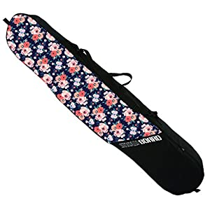 Snowboardtasche Board Bag Snowboardbag Frauen Blumen Flowers [051]