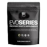 HSN Sports Evocarbs Maltodextrina, Dextrosa y Fructosa con Electrolitos, Sabor Mora - 1000 gr