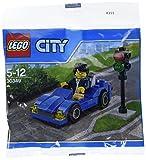Lego City - 30349 - Voiture de Sport Bleue (Sac en Plastique)