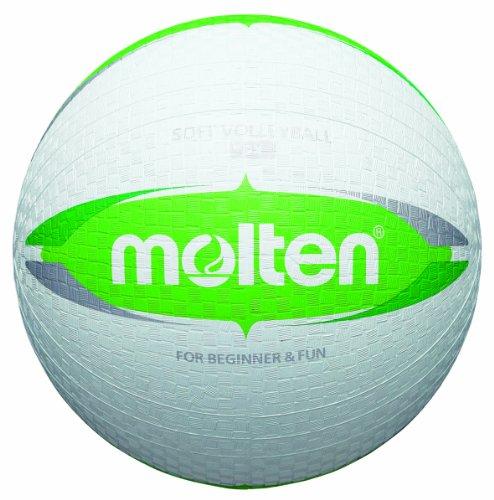 Molten Kinder Dodgeball Ball, weiß/grün, ø 20,0 cm